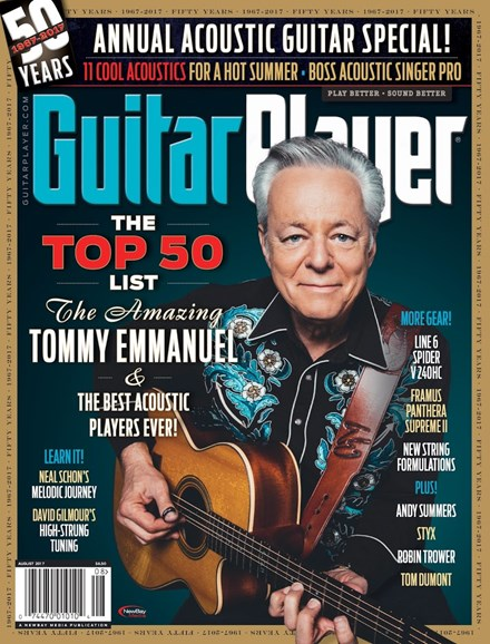 Guitar Player Cover - 8/1/2017