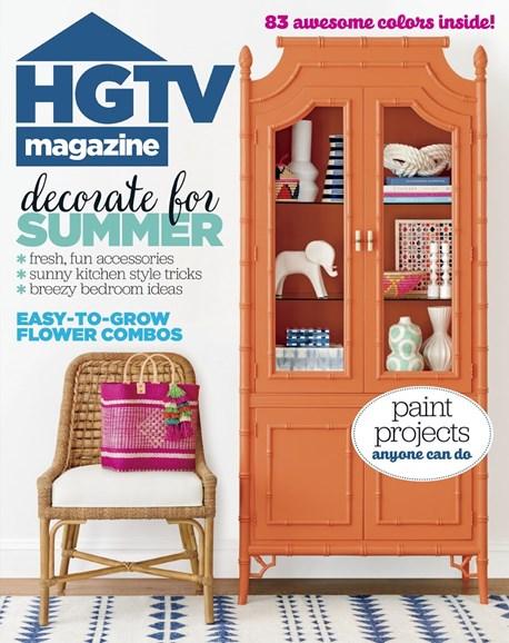 HGTV Cover - 6/1/2017