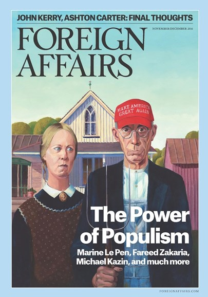 Foreign Affairs Cover - 11/1/2016