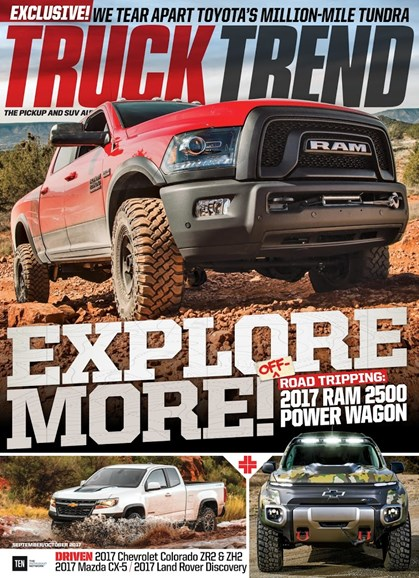 Truck Trend Cover - 9/1/2017