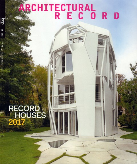 Architectural Record Cover - 6/1/2017