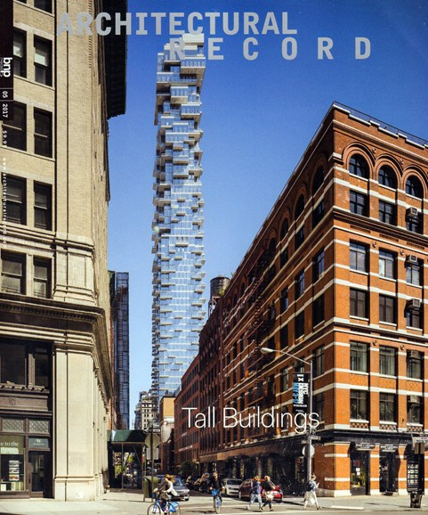 Architectural Record Cover - 5/1/2017