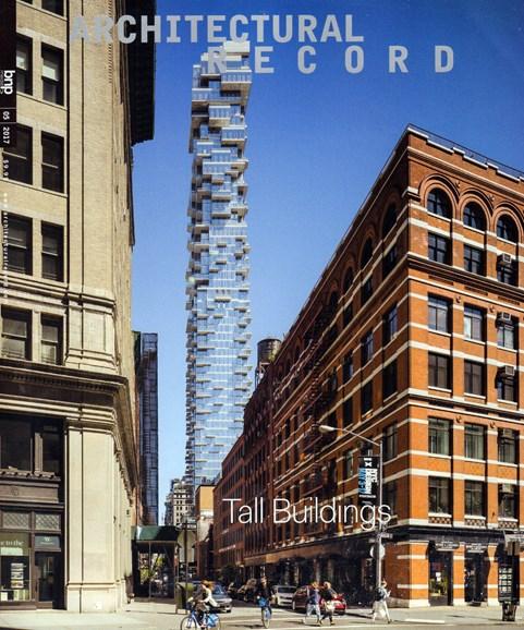 Architectural Record Cover - 5/1/2017