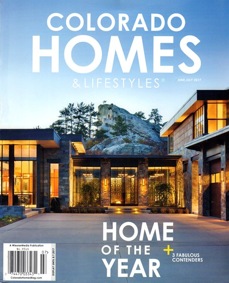 Colorado Homes & Lifestyles Cover - 6/1/2017