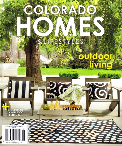 Colorado Homes & Lifestyles Cover - 5/1/2017
