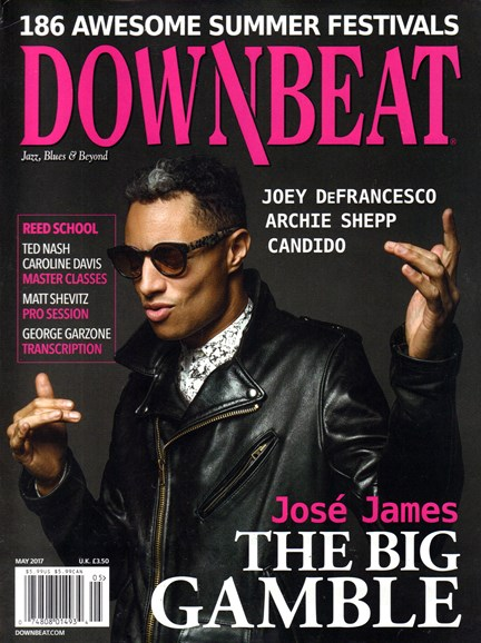 DownBeat Cover - 5/1/2017