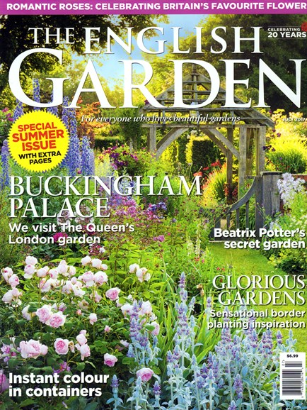 The English Garden Cover - 7/1/2017