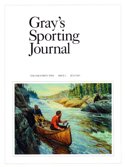 Gray's Sporting Journal Cover - 7/1/2017
