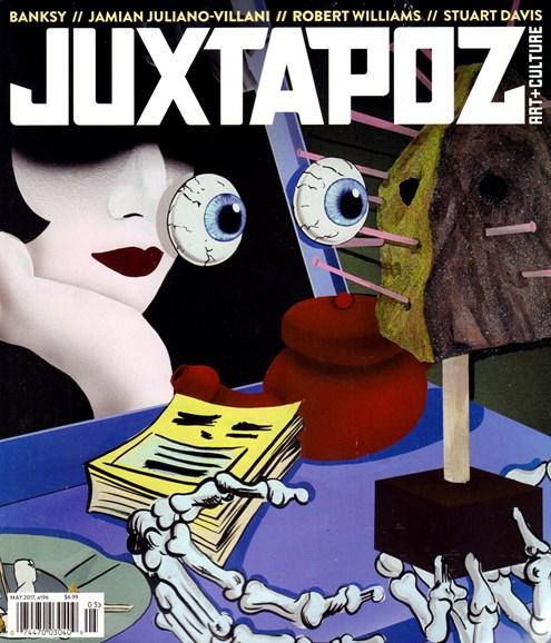 Juxtapoz Cover - 5/1/2017