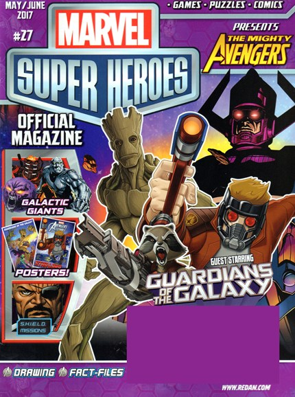 Marvel Super Heroes Cover - 5/1/2017