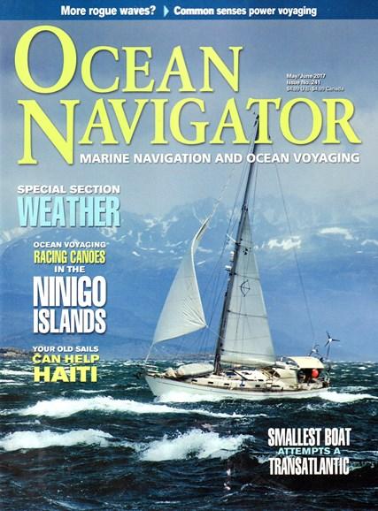Ocean Navigator Cover - 5/1/2017