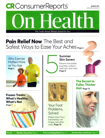 Consumer Reports On Health Cover - 8/1/2017