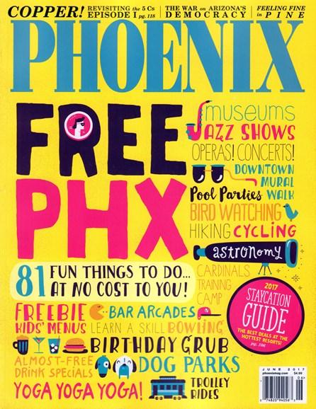 Phoenix Magazine Cover - 6/1/2017