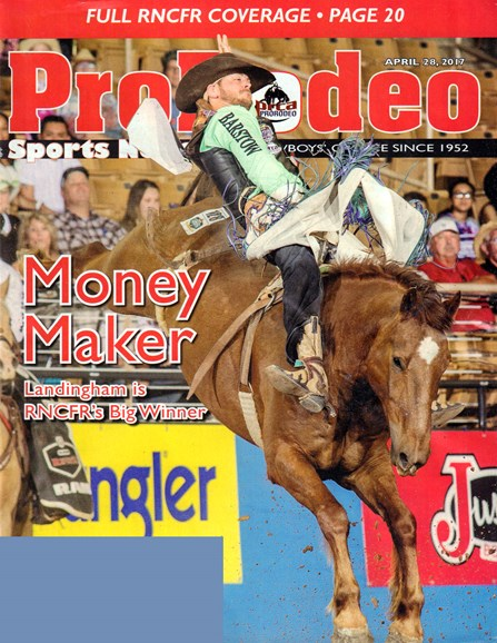 Pro Rodeo Sports News Cover - 4/28/2017