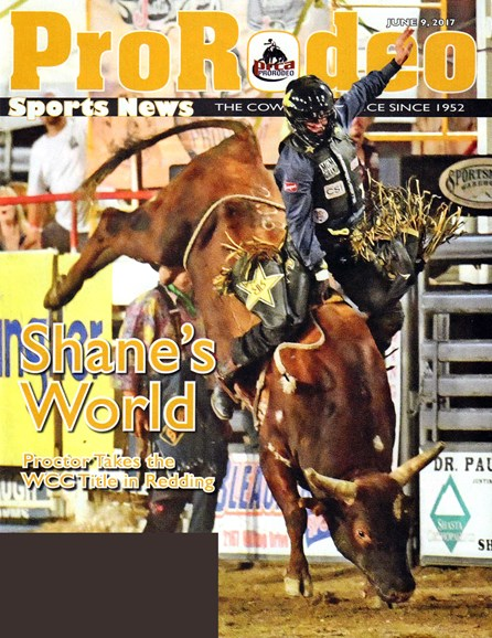 Pro Rodeo Sports News Cover - 6/9/2017