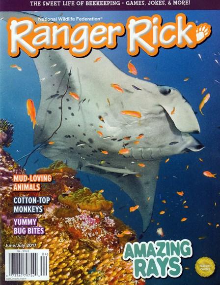 Ranger Rick Cover - 6/1/2017