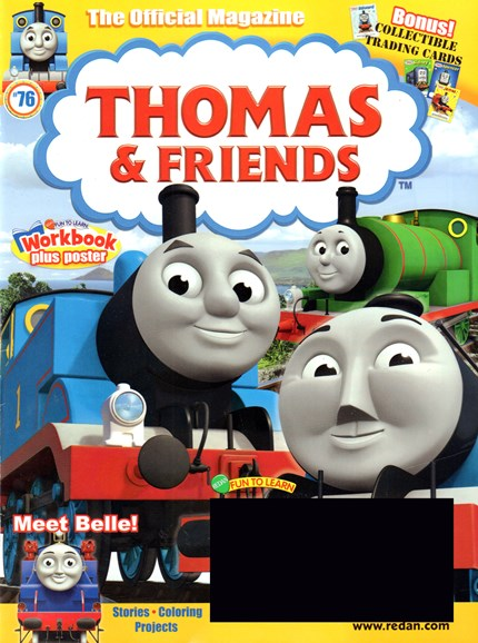 Thomas & Friends Cover - 5/1/2017