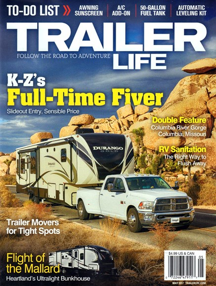 Trailer Life Cover - 5/1/2017