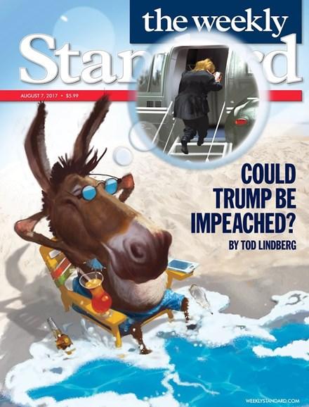 Washington Examiner Cover - 8/7/2017