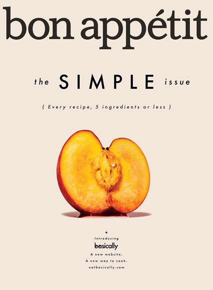 Bon Appétit Cover - 8/1/2017