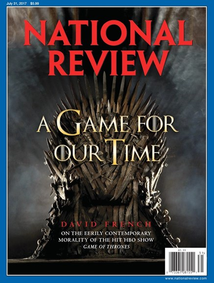 National Review Cover - 7/31/2017