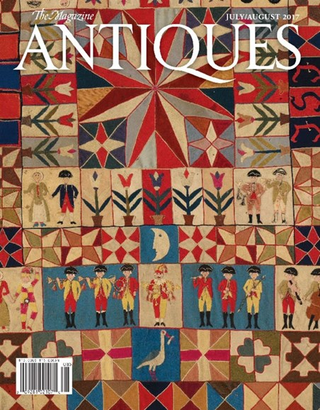 The Magazine Antiques Cover - 7/1/2017