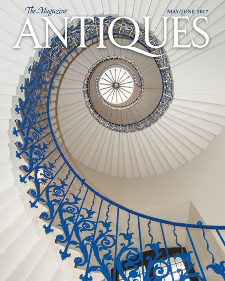 The Magazine Antiques Cover - 5/1/2017