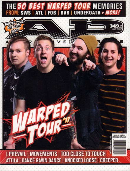 Alternative Press Cover - 8/1/2017