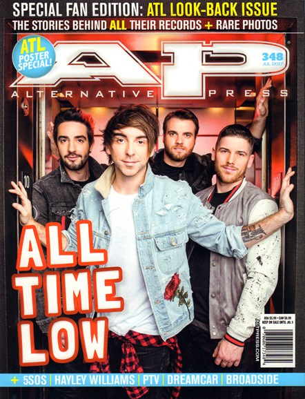 Alternative Press Cover - 7/1/2017