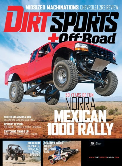 Dirt Sports & Off-Road Cover - 10/1/2017