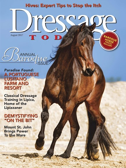 Dressage Today Cover - 8/1/2017