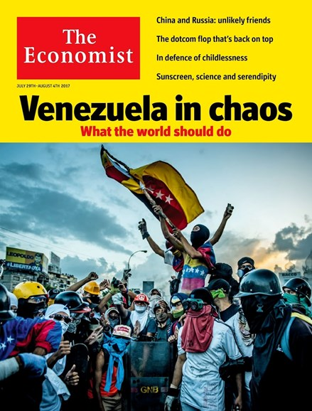 The Economist Cover - 7/29/2017