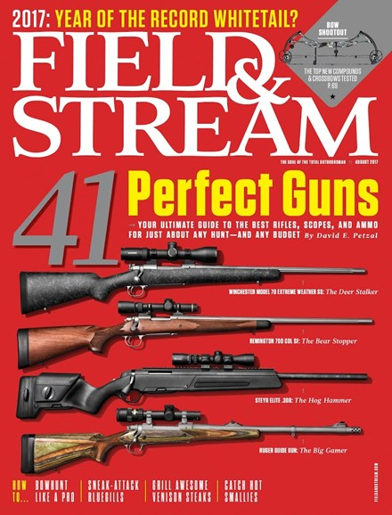 Field & Stream Cover - 8/1/2017