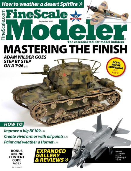Finescale Modeler Cover - 9/1/2017
