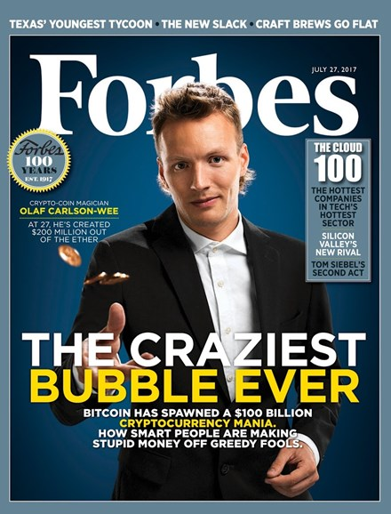 Forbes Cover - 7/27/2017