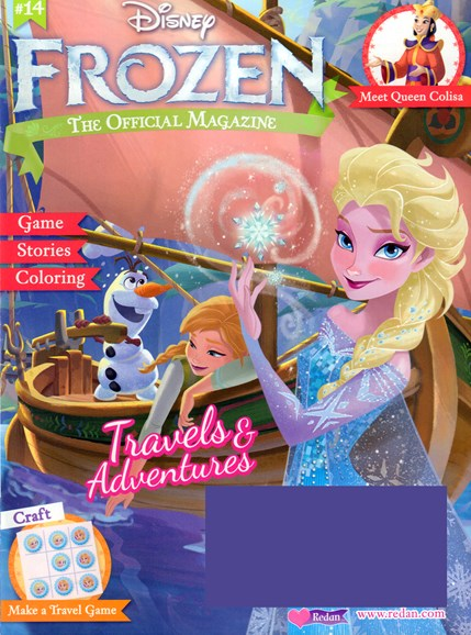 Disney Frozen Cover - 5/1/2017