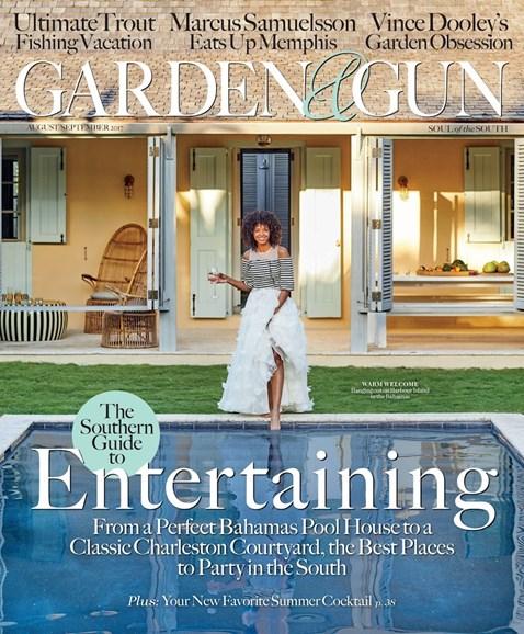 Garden & Gun Cover - 8/1/2017