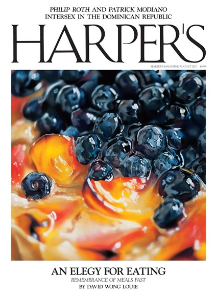 Harper's Cover - 8/1/2017