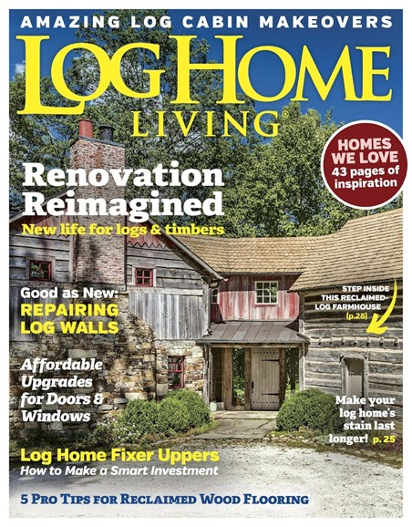 Log Home Living Cover - 9/1/2017