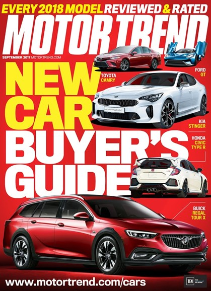 Motor Trend Cover - 9/1/2017