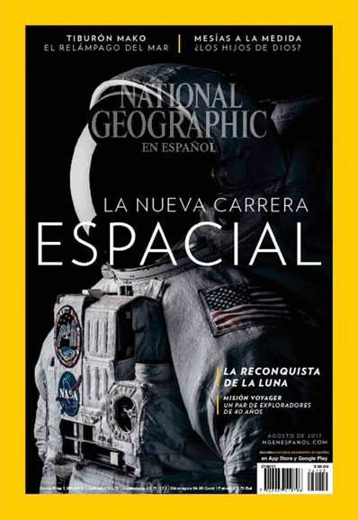 National Geographic En Español Cover - 8/1/2017