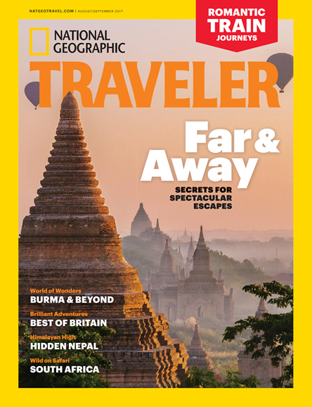 National Geographic Traveler Cover - 8/1/2017