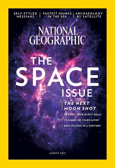 National Geographic Cover - 8/1/2017