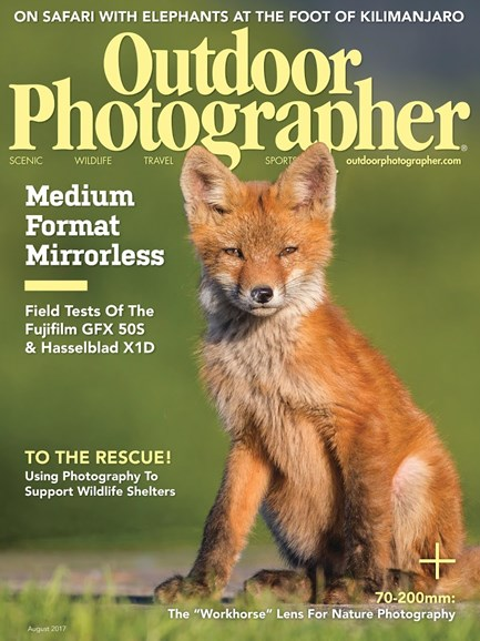 Outdoor Photographer Cover - 8/1/2017