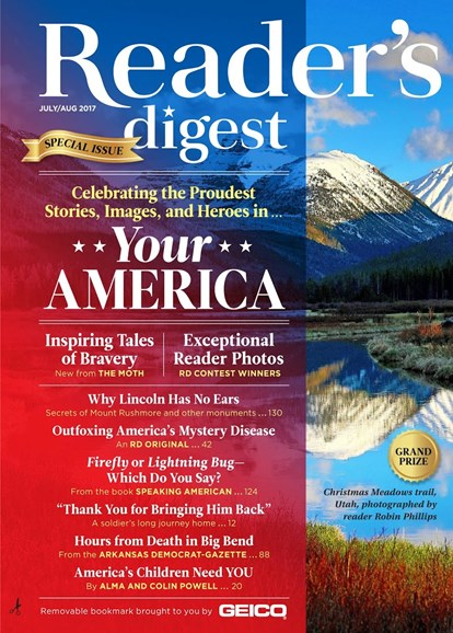 Reader's Digest Cover - 7/1/2017