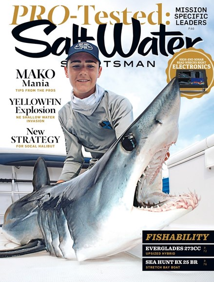 Salt Water Sportsman Cover - 8/1/2017