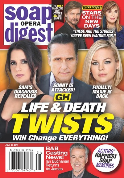Soap Opera Digest Cover - 7/31/2017