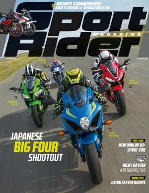 Sport Rider Magazine | 8/1/2017 Cover