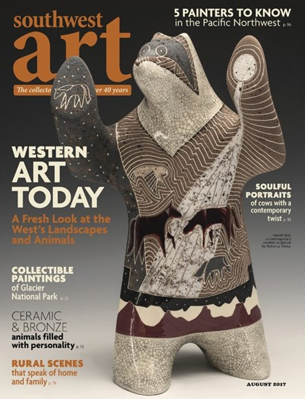 Southwest Art Cover - 8/1/2017