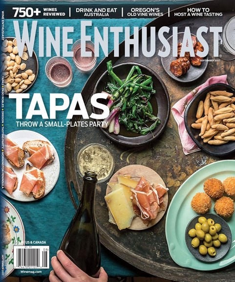 Wine Enthusiast Cover - 9/1/2017